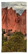 Giants Among The Trees Beach Towel