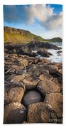 Giant's Causeway Circle Of Stones Beach Towel