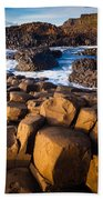 Giant's Causeway Surf Beach Towel