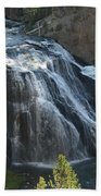 Gibbon Falls I Beach Towel