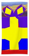 Gift Wrapped Beach Towel