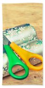 Gift Wrapping Beach Towel