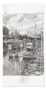 Gig Harbor Entrance Beach Towel