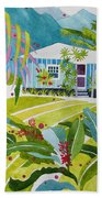 Ginger Cottage Beach Towel