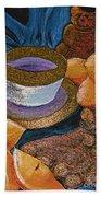 Ginger Lemon Tea 2 By Jrr Beach Towel