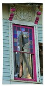 Burnt Gingerbread At The Pride House Jefferson Texas Beach Towel
