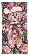 Gingerbread Fantastico Beach Towel