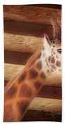 Giraffe Smarty Beach Towel
