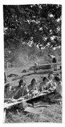 Girl Scout Picnic Beach Sheet