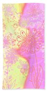 Girlz Only Abstract Beach Towel