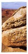 Glacial Erratic Beach Towel by Adam Jewell