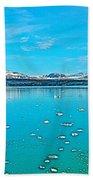 Glacier Bay National Park-alaska Beach Towel