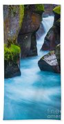 Glacier Gorge Beach Towel