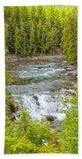 Glacier National Park Splendor Beach Towel