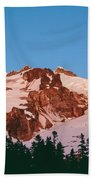 Glacier Peak At Kennedy Ridge Beach Towel
