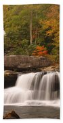 Glade Creek Grist Mill 10 Beach Towel