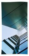 Glass And Metal - Walt Disney Concert Hall In Downtown Los Angeles Beach Towel