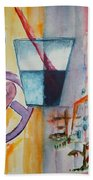 Glass Attitude Beach Towel