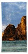 Glass Rocks Beach Towel