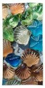 Glass Seashell Beach Towel