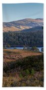 Glen Affric Panorama II Beach Towel
