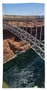 Glen Canyon Dam Bridge Beach Towel