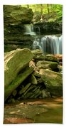 Glen Leigh Cascades Beach Towel