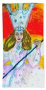 Glenda The Good Witch Of Oz Beach Towel
