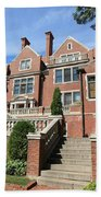Glensheen Mansion Exterior Beach Towel