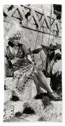 Gloria Swanson - My American Wife Beach Towel