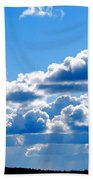 Glorious Clouds Beach Towel
