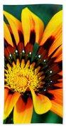 Glorious Day Yellow Flower By Diana Sainz Beach Towel