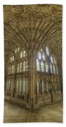 Gloucester Cathedral Cloisters Beach Towel