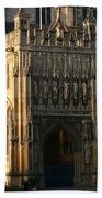 Gloucester Cathedral Entrance Beach Towel