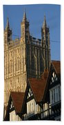 Gloucester Cathedral Spire Beach Towel