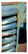 Gmc Truck Grille Emblem Beach Towel