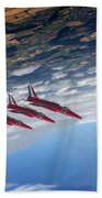 Gnats Inverted Beach Towel