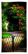 Go And Smell The Roses Beach Towel