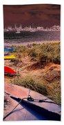 Go Float Yer Boat Beach Towel