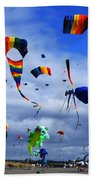 Go Fly A Kite 4 Beach Towel