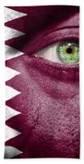 Go Qatar Beach Towel