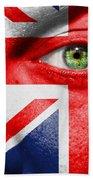 Go United Kingdom Beach Towel