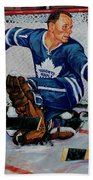 Goaltender Beach Towel