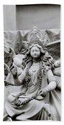 Goddess Durga Beach Towel by Shaun Higson