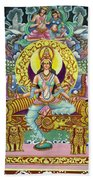 Goddess Of Asia Beach Towel
