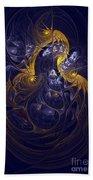 Goddess Of Healing Energy Beach Towel