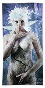 Goddess Of Water Beach Towel