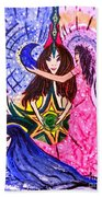 Goddess Trinity Beach Towel