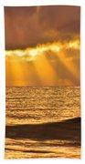 God's Eyelashes Beach Towel
