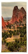 Gods Garden In Colorado Beach Towel